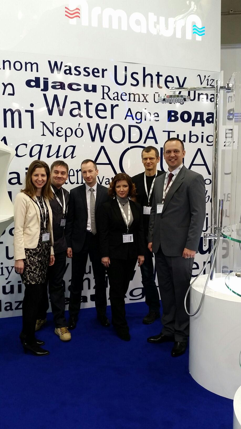 Grupa Armatura podczas targów Aqua-Therm w Moskwie (2015 r.). Fot. Grupa Armatura