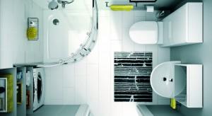 Meble do małej łazienki muszą być przede wszystkim wielofunkcyjne