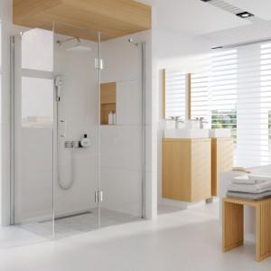 Kabiny prysznicowe – 12 eleganckich modeli do narożnika