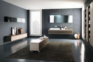 Szara łazienka – tak ją urządzisz w stylu loft