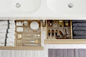 Szuflady w łazience. 12 pomysłów na przechowywanie