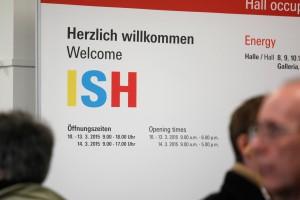Tak było na otwarciu targów ISH 2015