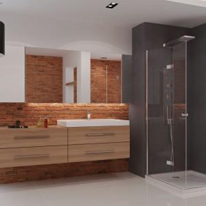 Cegła w łazience – najmodniejsze pomysły na aranżację ścian