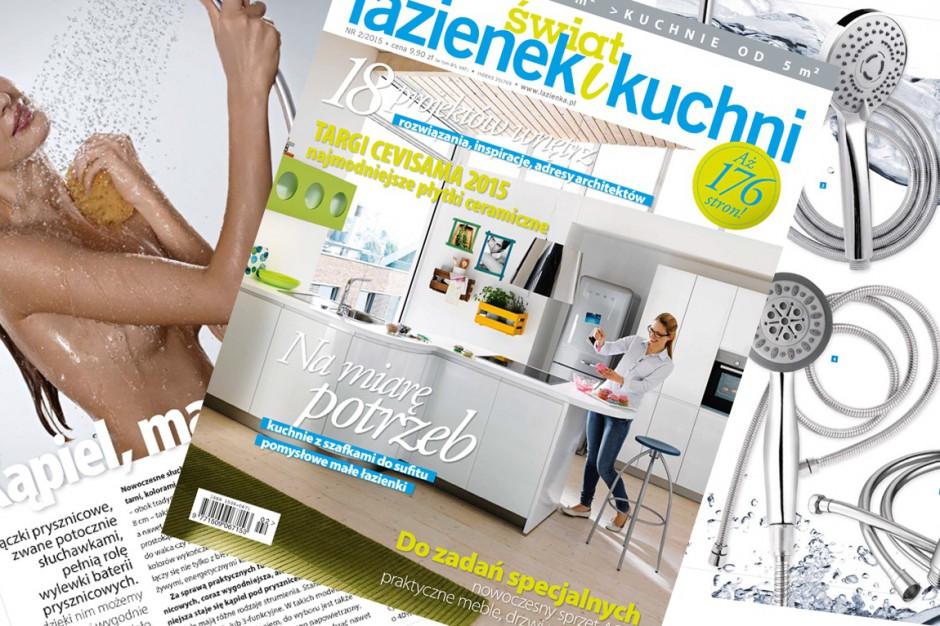 Nowe wydanie magazynu  Świat Łazienek i Kuchni już w sprzedaży