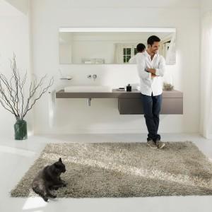 Meble do łazienki: 10 nowych kolekcji w modnych szarościach