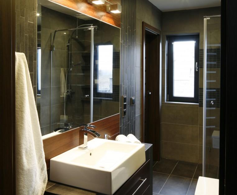 Inspirujemy Wąska łazienka Zobacz Gotowy Projekt W