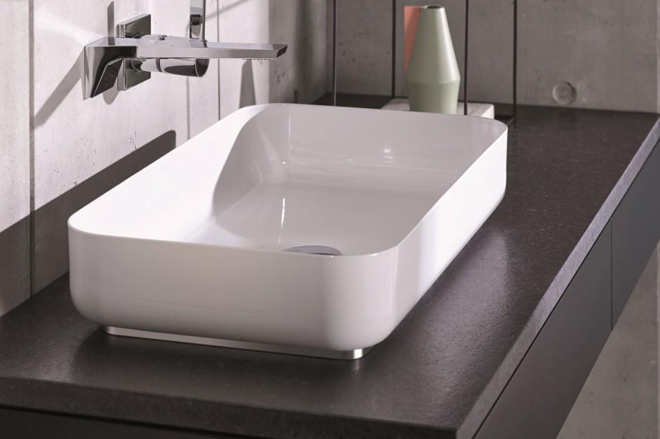 Stream - nowa prostokątna umywalka Alape