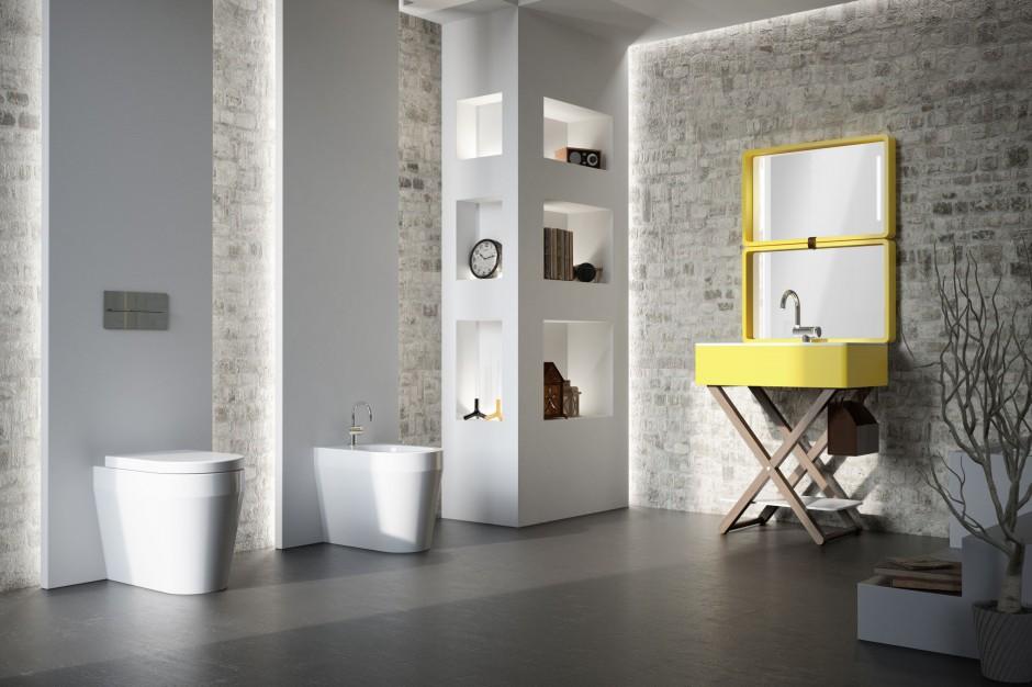 Stylowa łazienka – zobacz piękne aranżacje z cegłą