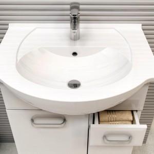 Meble do małej łazienki – zobacz 15 modnych kolekcji