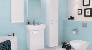 Ciasna łazienka: praktyczne szafki pod umywalkę już od 223 zł