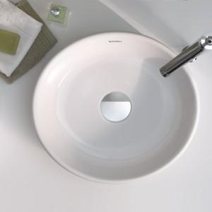 16 modnych umywalek nablatowych - rozwiązania na każdą kieszeń