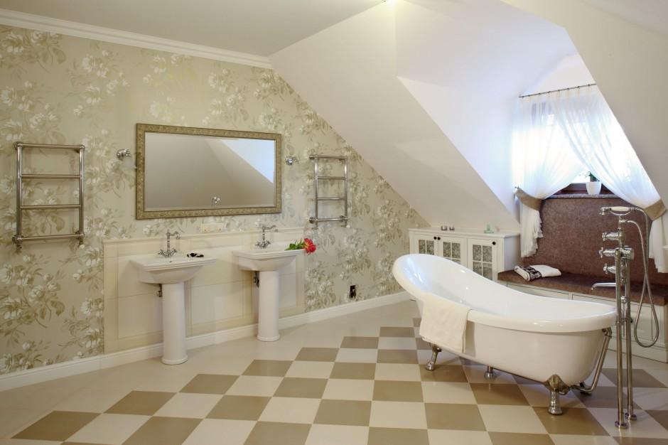 Podłoga w łazience – zobacz pomysły architektów
