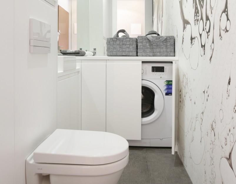 Inspirujemy Mała łazienka Z Pralką Tak Ją Urządzisz Na 3