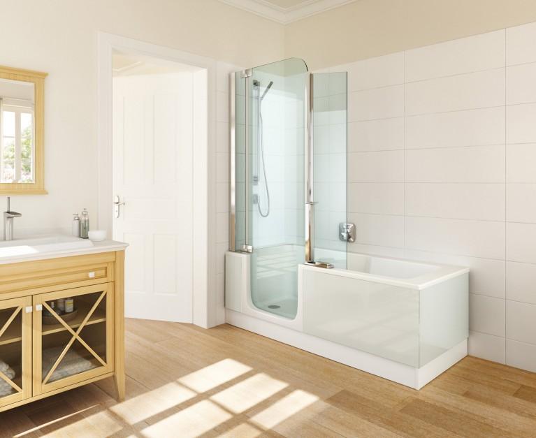 Aranżujemy Mała łazienka Wanna Prysznic Albo Parawan