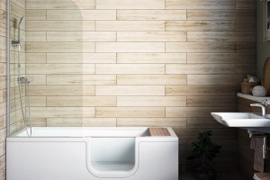 Mała łazienka: wanna, prysznic albo parawan