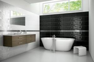 Radzimy Czarno Biała łazienka Modne Pomysły Na Aranżację
