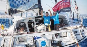 Wspierana przez Roca łódź zakończyła wyścig Barcelona World Race