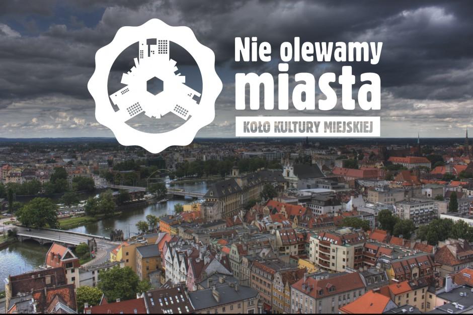 """Koło zaprasza na debatę """"Nie Olewamy miasta. MIKROarchitektura – MAKSIspołeczeństwo"""""""