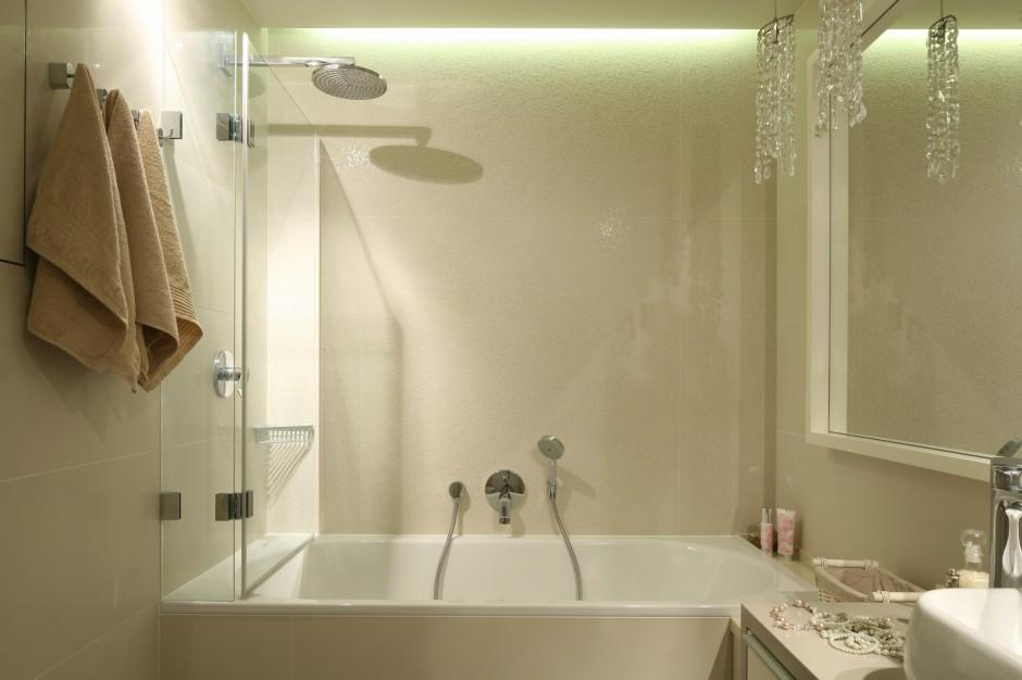 Mała łazienka: pomysły na prysznic
