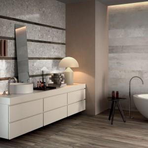 Szare płytki do łazienki – 12 modnych kolekcji