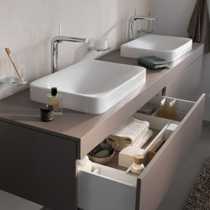 Baterie do łazienki – 12 modeli umywalkowych