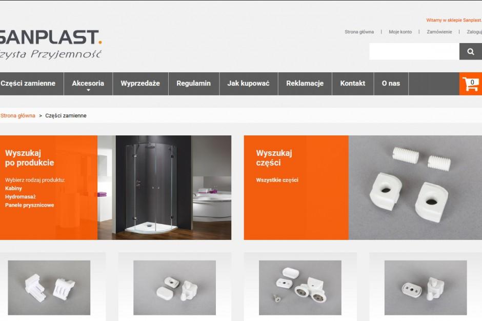 Sanplast otworzył sklep internetowy z częściami zamiennymi