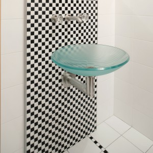 Bardzo mała łazienka. Gotowy projekt na 2 metrach