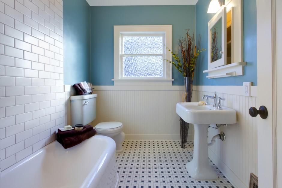 Aranżujemy Modnie Pomalowana łazienka Wybierz Farbę