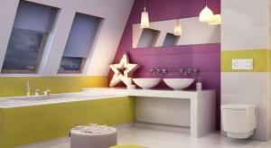 Ściana za umywalką – tak modnie ją wykończysz