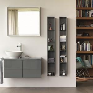 Łazienka w szarościach – 10 modnych pomysłów