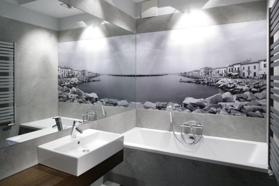 Fototapeta do łazienki – 12 pomysłów z polskich domów