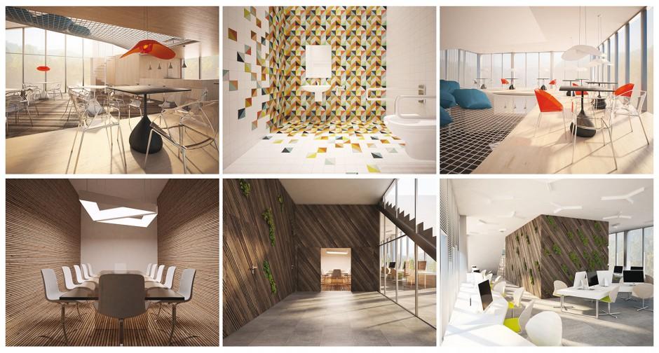 Łazienka w biurze - pięć pomysłów na reprezentacyjne wnętrze