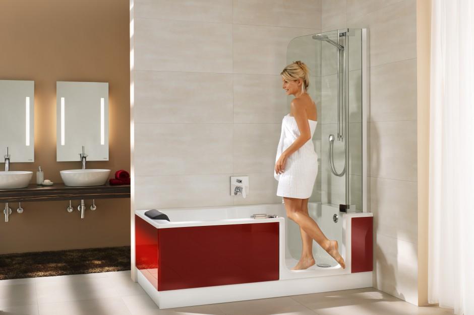 Kabina prysznicowa czy wanna? Parawany nawannowe i kabino-wanny rozwiązują problem