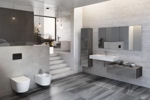 Inspirujemy łazienka W Szarościach 12 Pomysłów Na Piękne