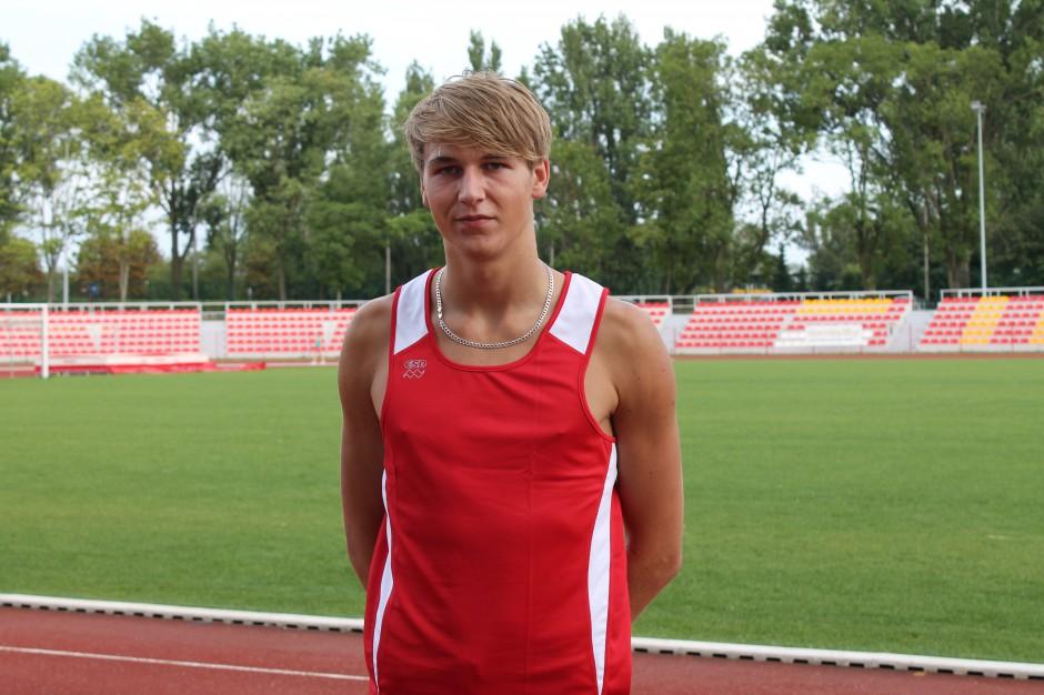 Sanplast wspiera młodego lekkoatletę