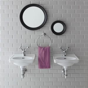 Retro w łazience jest wiecznie młode. A nawet nowoczesne