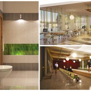 Produkty - 24 pomysły na łazienkę biurową - nowoczesne rozwiązania od młodych projektantów ...