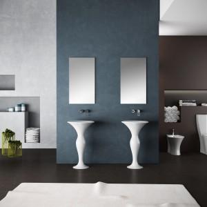 Umywalki podłogowe: zobacz najpiękniejsze modele