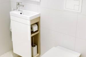 Łazienka na trzech metrach – jakie meble wybrać