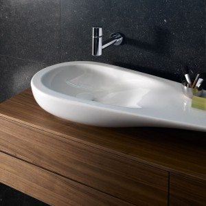 Modne umywalki nablatowe – zobacz nowości