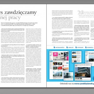 """Magazyn """"Łazienka"""" (nr 3/2015) już w sprzedaży"""