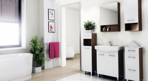 Biała łazienka – tak modnie ją umeblujesz