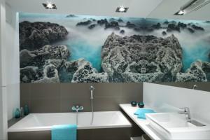 Fototapety do łazienki – takie wzory wybierają Polacy