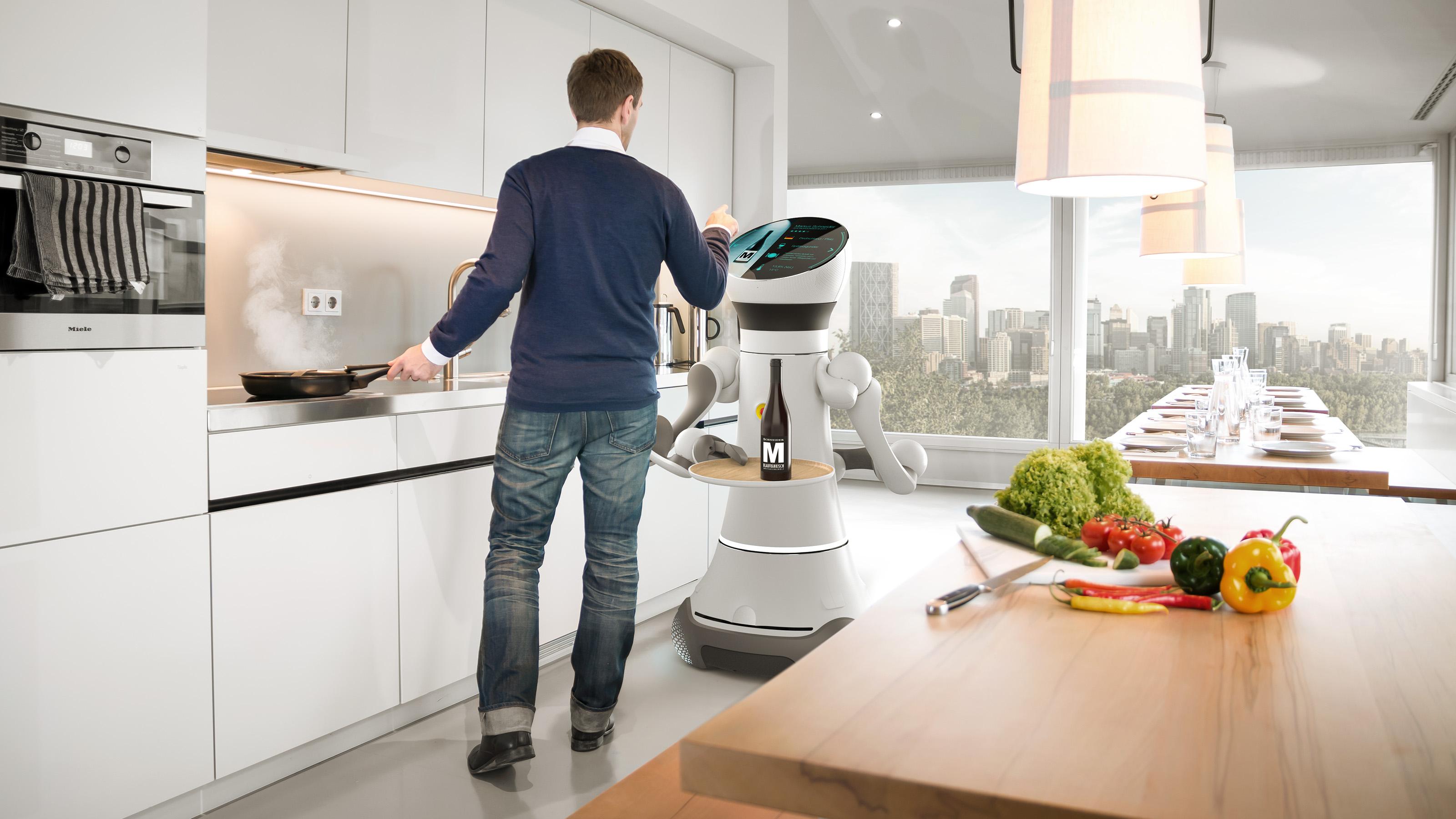Phoenix Design dla firmy Frauenhofer: robot Care-O-Bot 4