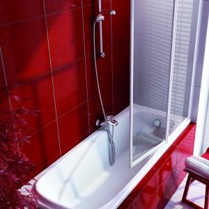 Mała łazienka: wybierz parawan nawannowy