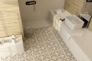 Płytki w beżach i brązach – najmodniejsze kolekcje do łazienki