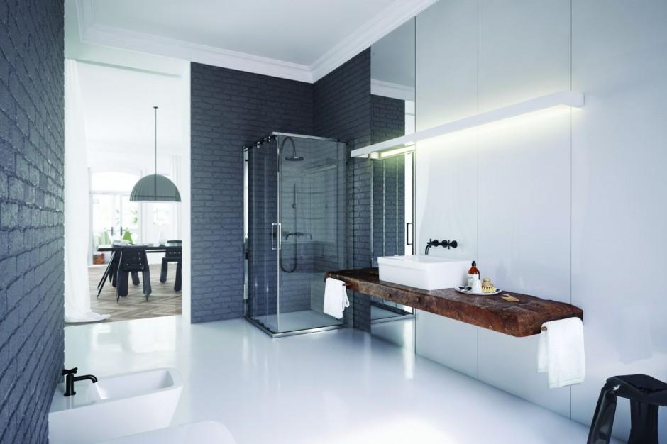 Modny prysznic - poznaj ultranowoczesne rozwiązania