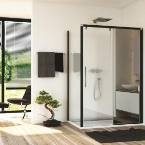 Kabiny z lustrami – zobacz jak powiększają łazienkę