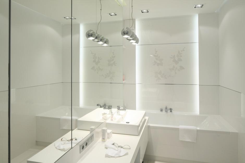 Inspirujemy Biała łazienka Gotowy Projekt Na 8 Metrów