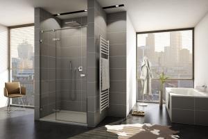 12 modnych drzwi do wnęki prysznicowej
